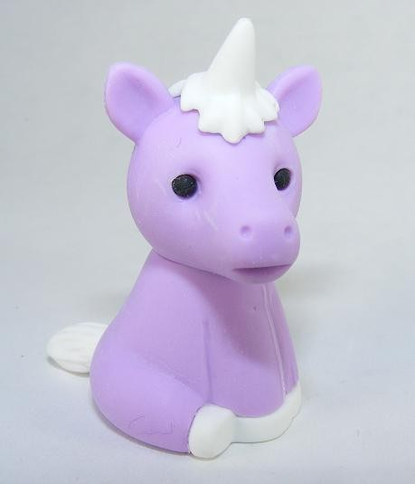 Iwako Jungle Paradise: Pastel Purple Magical Unicorn Japanese Eraser