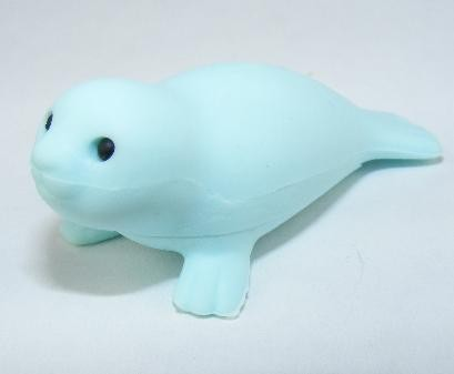 Iwako Sea Animal Blue Seal Hoover Sea Lion Japanese Eraser