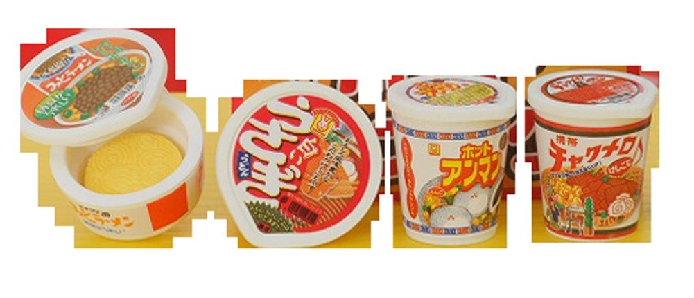 Iwako  Instant Cup Noodles Japanese Erasers