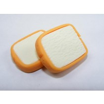 Dream Bakery 2 slices of Fresh White Bread Japanese Eraser
