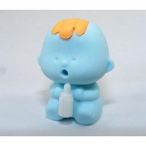 Dream Blue Feeding Baby Eraser