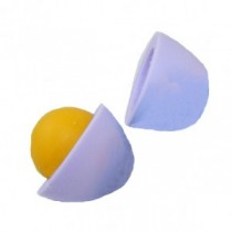 Dream Purple Egg & Orange Egg York Eraser