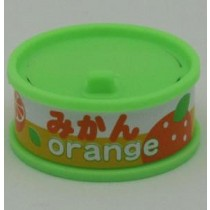 Dream Fruit-in-can Orange Slice Green Can Eraser