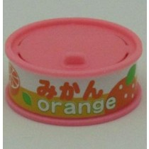 Dream Fruit-in-can Orange Slice Pink Can Eraser