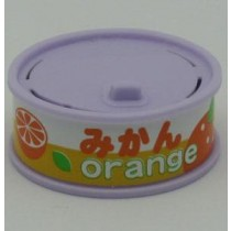 Dream Fruit-in-can Orange Slice Purple Can Eraser