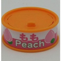 Dream Fruit-in-can Peach Slice Orange Can Eraser