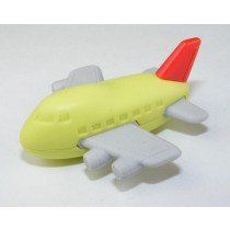 Iwako Green Red Aeroplane Japanese Eraser