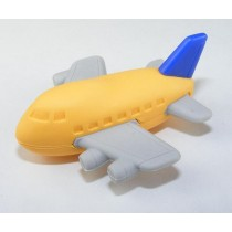 Iwako Orange Blue Aeroplane Japanese Eraser