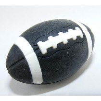 Iwako Sports American Football Black Rugby Japanese Eraser
