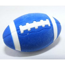 Iwako Sports American Football Blue Rugby Japanese Eraser