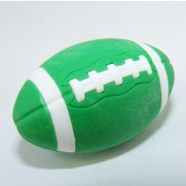 Iwako Sports American Football Green Rugby Japanese Eraser