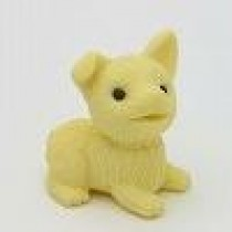 Iwako Dog Cute yellow puppy Japanese Eraser
