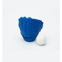 Iwako Baseball Blue Glove & Ball set Japanese Eraser