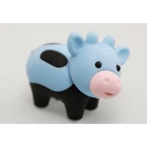 Iwako Zoo Animals Blackfeet Blue Moo Moo Cow Japanese Eraser