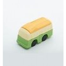 Iwako Green Yellow top Bus Japanese Eraser