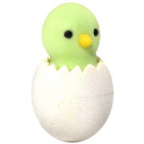 Iwako Green Chic in Egg Japanese Eraser