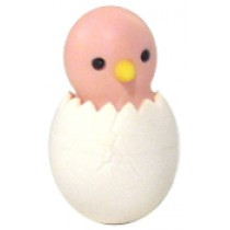 Iwako Pink Chic in Egg Japanese Eraser
