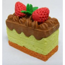 Iwako Creamy Cake Yellow Chocolate Cream Japanese Eraser