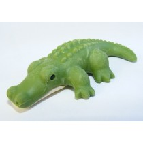 Iwako Wild Animals Green Crocodile Japanese Eraser