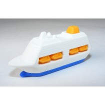 Iwako Sea & Air: Blue Cruise Ship Japanese Eraser