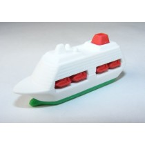 Iwako Sea & Air: Green Cruise Ship Japanese Eraser