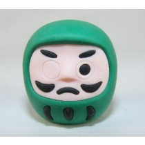 Iwako Culture: Green Daruma Japanese Eraser