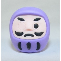 Iwako Culture: Purple Daruma Japanese Eraser