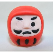 Iwako Culture: Red Daruma Japanese Eraser