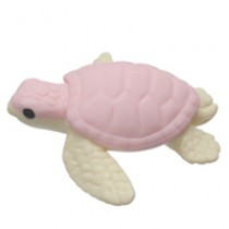 Iwako Deep Sea Animal - Pink Sea Turtle Japanese Eraser