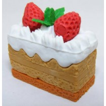 Iwako Creamy Cake Chocolate White Cream Japanese Eraser