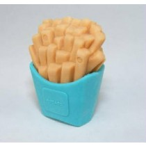 Iwako Blue Pack French Fries Japanese Eraser