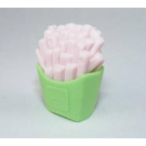 Iwako Green Pack French Fries Japanese Eraser