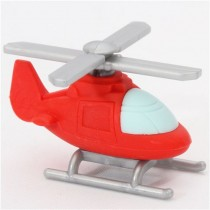 Iwako Red Rescue Helicopter Japanese Eraser