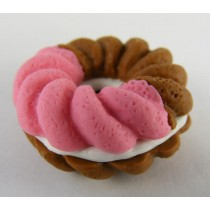 Iwako French Pastry Pink Chocolate Doughnut Cookie Japanese Eraser