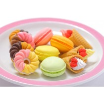 Iwako  10 types French Pastry Desserts Japanese Erasers