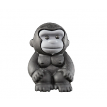 Iwako Safari Animals - Black Gorilla Japanese Eraser