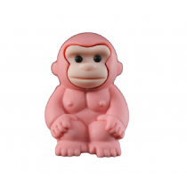 Iwako Safari Animals - Pink Gorilla Japanese Eraser