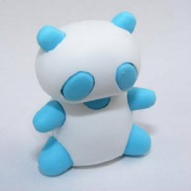 Iwako Gu Gu the Blue Panda Japanese Eraser
