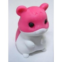 Iwako Rose Red Hamster Japanese Eraser