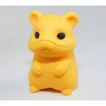 Iwako Pure Orange Hamster Japanese Eraser