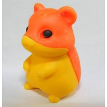 Iwako Orange Yellow Hamster Japanese Eraser