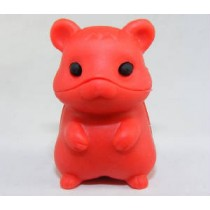 Iwako Pure Red Hamster Japanese Eraser