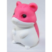 Iwako Red & White Hamster Japanese Eraser