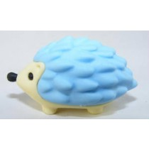 Iwako Animals: Blue Hedgehog Japanese Eraser
