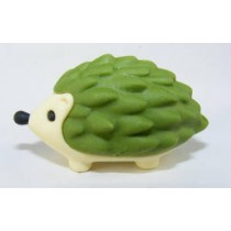 Iwako Animals: Green Hedgehog Japanese Eraser