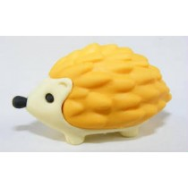 Iwako Animals: Yellow Hedgehog Japanese Eraser