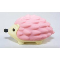 Iwako Animals: Pink Hedgehog Japanese Eraser