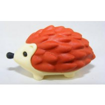 Iwako Animals: Brown Hedgehog Japanese Eraser