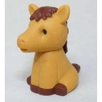 Iwako Zoo Animals Brown Horse Japanese Eraser