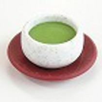 Iwako Japanese Green Tea Cup with Saucer Japanese Eraser